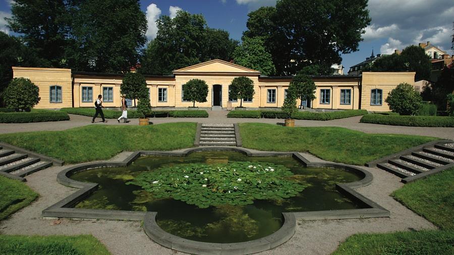 Linnéträdgården Uppsala