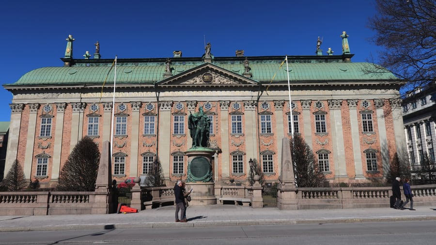 The House of Nobility Stockholm