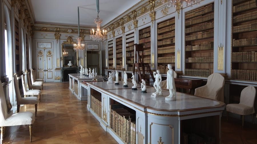 The Drottningholm Palace Library