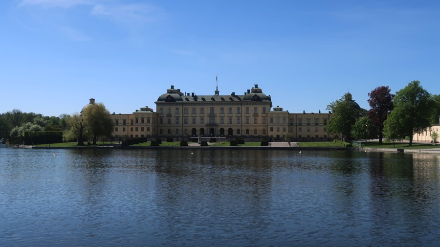 Drottningholm Palace from the water