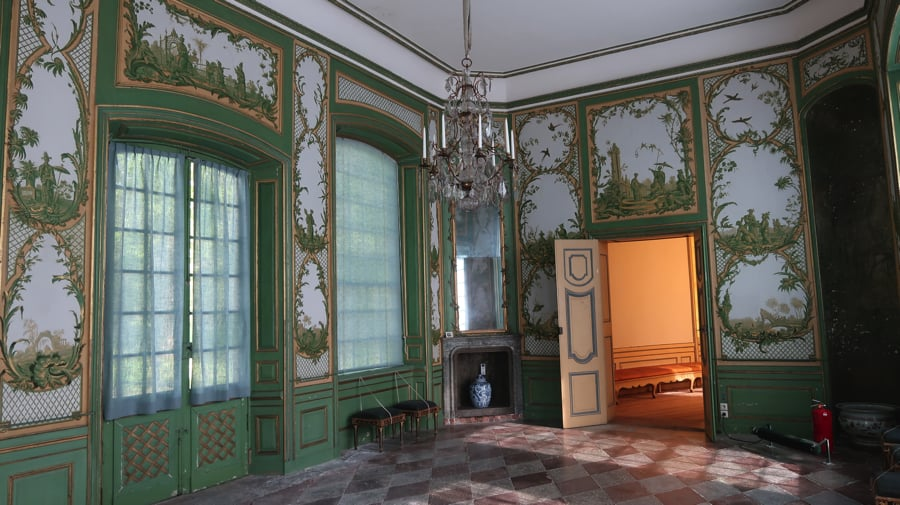 The Green Cabinet in the Chinese Pavilion