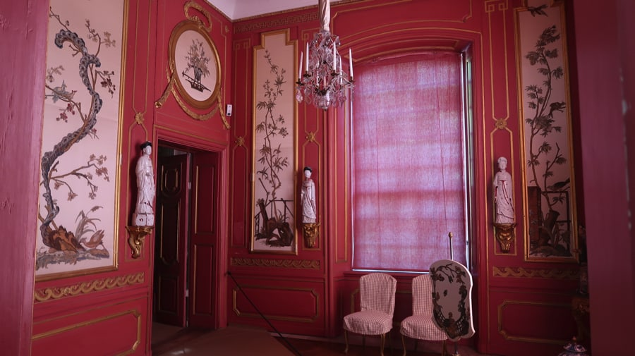 The Red Cabinet in the Chinese Pavilion