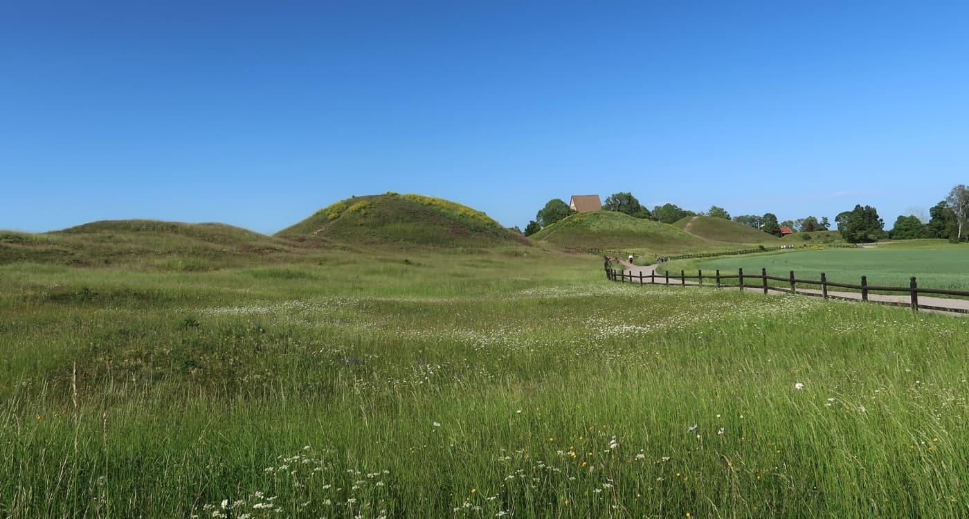 The Royal Mounds in Gamla Uppsala