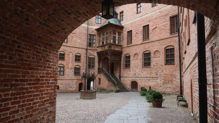 Gripsholm Castle Courtyard