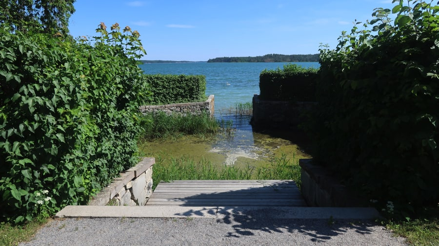 Tullgarn Castle Harbour