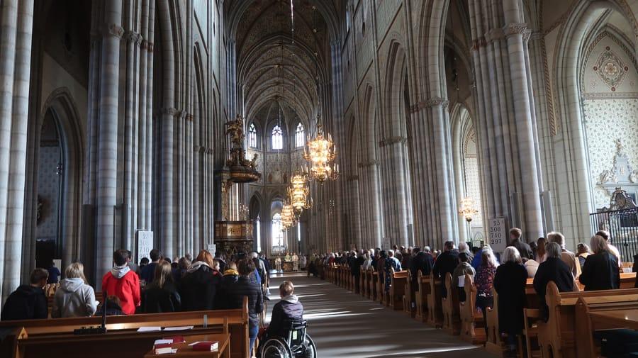 Uppsala Cathedral Interior